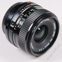 Canon objectif FD grand angle 35 mm f/2.8, comme neuf !