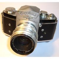 Ihagee Exakta Varex, appareil photo reflex de 1950, avec 3 objectifs